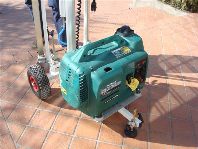 Generateur pour mat d'éclairage