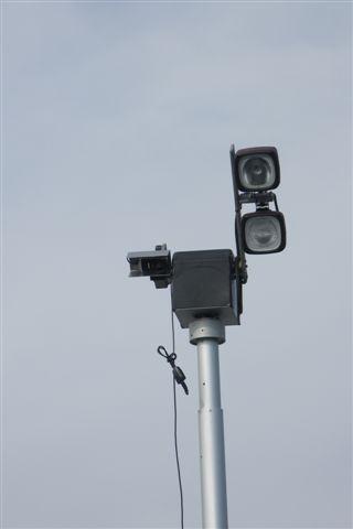 Caméra Digitale sur mât pour surveillance