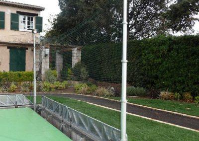 Mât pour terrain de tennis