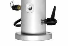 Systeme de reglage et de tournage pour les mats de rotation manuelle a 360