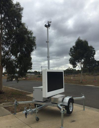 Remorque FIRECO sécurité et surveillance vitesse