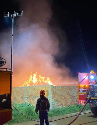 Mat éclairage led fourgon pompier