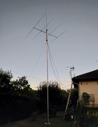 Mat Télescopique antenne radio émettrice